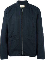 Folk 'Harrington' Bomber Jacket Blue