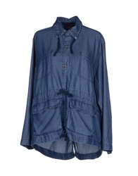 Kaos Jeans Denim Shirts Blue