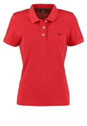 Gant The Summer Polo Shirt Red