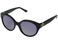 Tory Burch 0Ty7087 Black Purple Grey Gradient Polarized Fashion Sunglasses