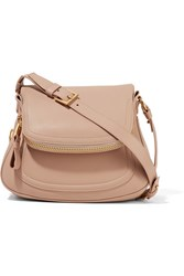 Tom Ford Jennifer Medium Leather Shoulder Bag Blush