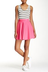 Necessary Objects Inverted Pleat Full Skirt Pink