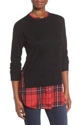 Foxcroft Women's Layer Look Pullover Sweater