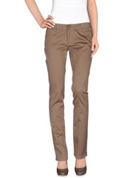 Guess Jeans Trousers Casual Trousers Women Dove Grey