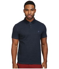Original Penguin Short Sleeve Reversible Polo Dark Sapphire Men's Short Sleeve Pullover Blue