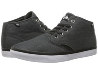 Quiksilver Shorebreak Mid Black Black White Men's Lace Up Casual Shoes