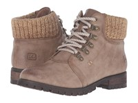 Chinese Laundry Treble Taupe Women's Lace Up Boots