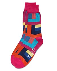 Thomas Pink Holt Socks Pink Multi
