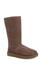 Uggr Women's Ugg 'Classic Ii' Genuine Shearling Lined Tall Boot Chocolate Suede