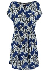 Louche Summer Dress White Navy