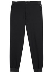 Orlebar Brown Beauceron Black Pique Jersey Jogging Trousers