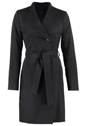 Comma Trenchcoat Black