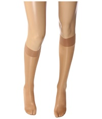 Wolford Satin Touch 20 Knee Highs Sand Women's Knee High Socks Shoes Beige