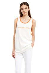 Opening Ceremony Club Usa Tank Top Off White