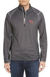 Tommy Bahama Men's 'Nfl Double Eagle' Quarter Zip Pullover Az Cardinals