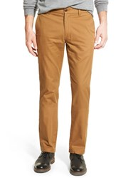 Men's Bonobos Slim Fit Flannel Lined Chinos Coffee Liquer