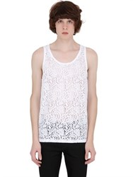 N 21 Cotton Lace Tank Top