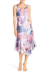 Women's Komarov Chiffon Midi Dress