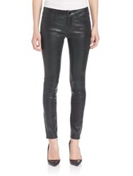 Frame Le Pine Leather Skinny Pants