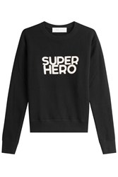Iro Cotton Sweatshirt Black
