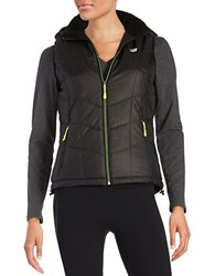 New Balance Quilted Puffer Vest Black