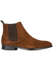 Paul Smith Ps By 'Gerald' Boots Brown