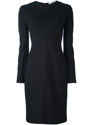 Chalayan Short Fitted Dress Black