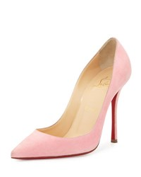 Christian Louboutin Decoltish Suede 100Mm Red Sole Pump Dolly