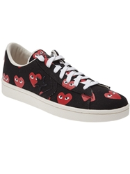 Comme Des Garcons Play 'Pro Star Lo' Trainers Black