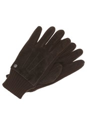 Replay Gloves Brown Taupe