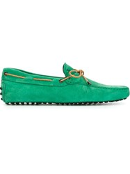 Tod's 'Gommino' Loafers Green
