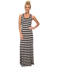 Kavu Minnie Maxi Dress Black Smoke Women's Dress
