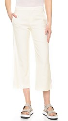 Vince Tailored Culottes Off White