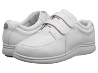 Hush Puppies Power Walker Ii White Leather Women's Walking Shoes