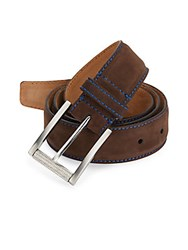 Robert Graham Suede Belt Brown