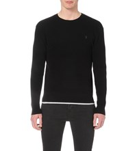 Allsaints Trias Knitted Jumper Black
