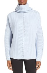 Nordstrom Women's Collection Scrunch Neck Cashmere Pullover