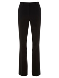 Mint Velvet Flared Trousers Black