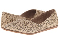 Toms Jutti Flat Cheetah Suede Printed Women's Flat Shoes Animal Print