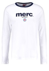Merc Fight Long Sleeved Top White