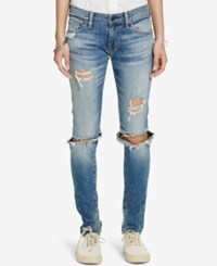 Denim And Supply Ralph Lauren Distressed Skinny Jeans Kayla