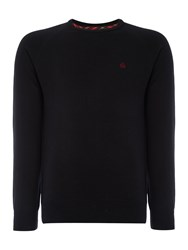 Merc Berty Classic Crew Jumpers Black