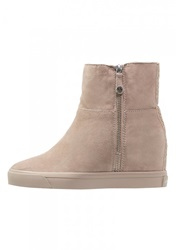 Dkny Clarissa Ankle Boots Light Taupe Beige