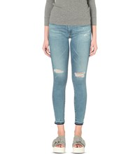 Ag Jeans The Legging Ankle Super Skinny Low Rise 18 Years Sunbeam Flame