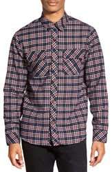 Men's Kane And Unke Plaid Flannel Shirt Jacket