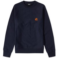 Paul Smith Pill Logo Crew Sweat Blue