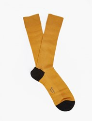 Paul Smith Yellow Contrast Panel Socks