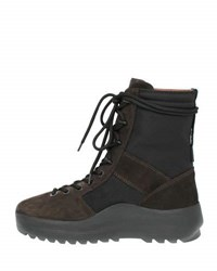 Yeezy Suede Military Boot Black