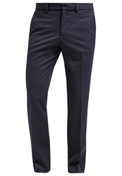 Burton Menswear London Trousers Navyblue Dark Blue