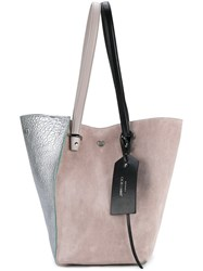 Jimmy Choo 'Twist' Tote Grey